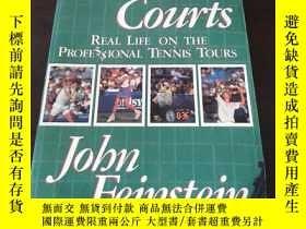 二手書博民逛書店Hard罕見Courts: Real Life on the P
