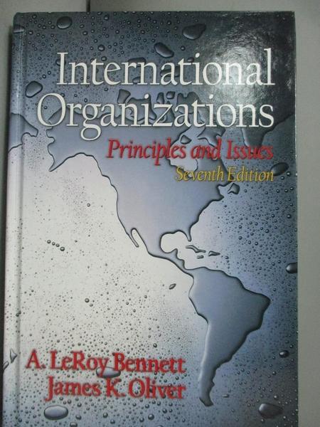 【書寶二手書T4/大學社科_YET】International Organizations: Principles an
