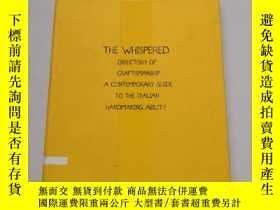 二手書博民逛書店The罕見Whispered Directory of Craf