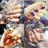 日系穿戴式美甲韓國持久可拆卸指甲貼片女士假指甲社會美甲成品 至簡元素