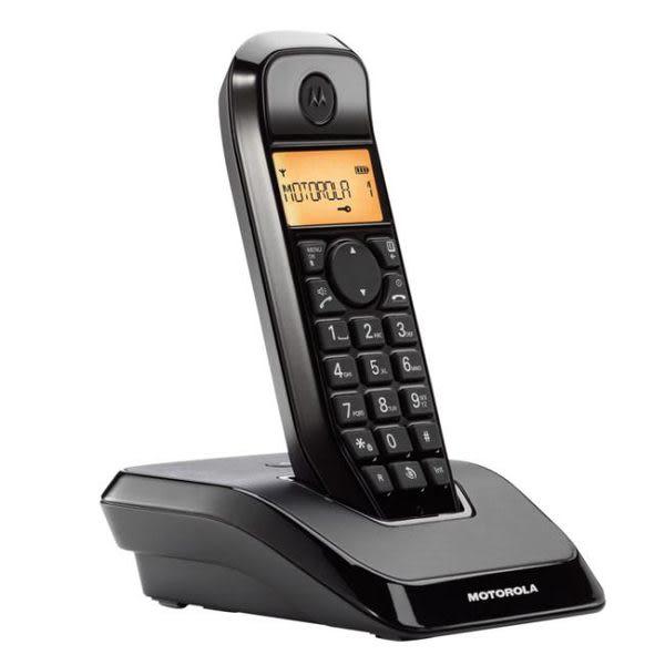 【S1201】摩托羅拉 MOTOROLA S1201 DECT數位無線電話《免持對講》