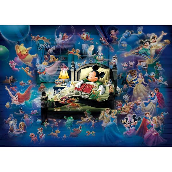 Tenyo拼圖 500片 迪士尼家族 米奇夢中奇幻_BF93407