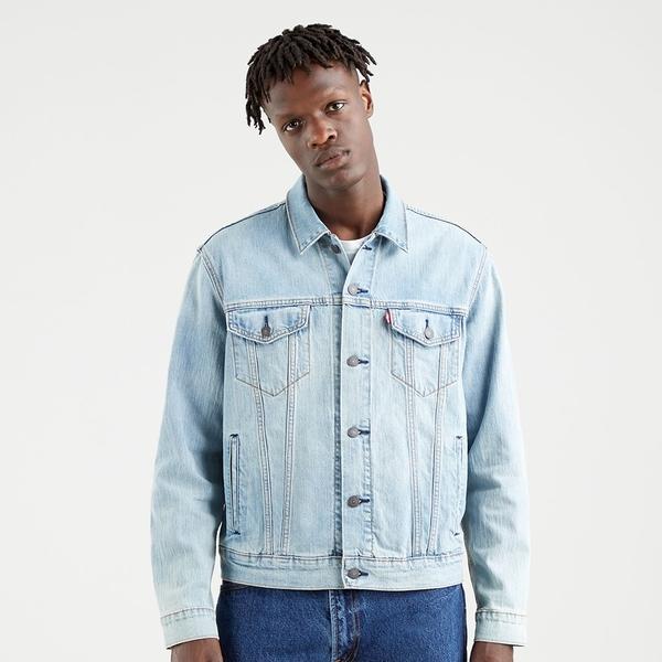 Levis 男款 牛仔外套 / Type3經典修身版型 / Coolmax吸濕排汗 / 彈性布料