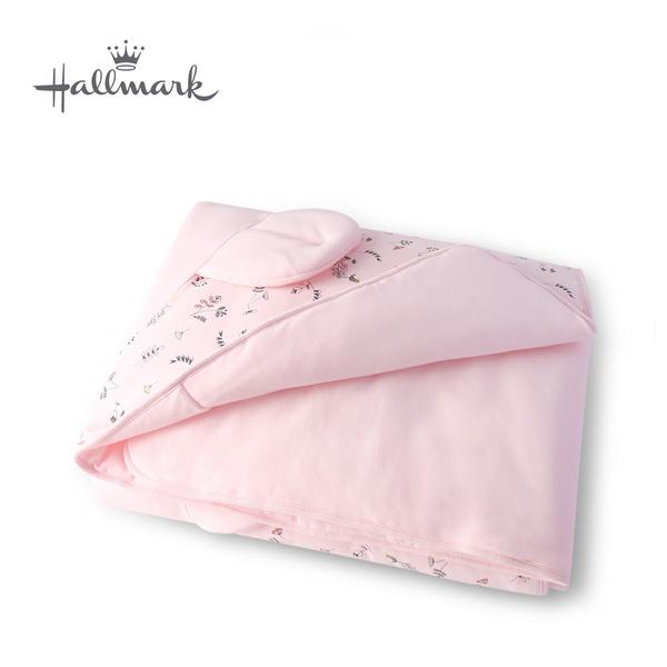 Hallmark Babies 帽子小熊加厚被子 HH3-F02-L1-LG-MR