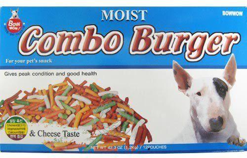 【培菓平價寵物網】韓國BowWow《起司條》雞肉/羊肉/高鈣粽合起司條試吃包100克↓