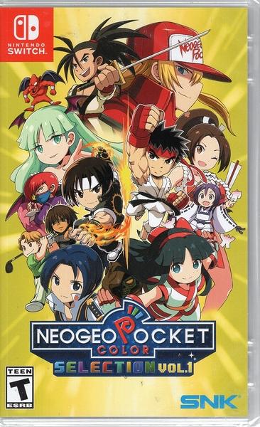 【玩樂小熊】Switch遊戲 NS NeoGeo Pocket Color Selection收藏輯Vol.1 日英文版