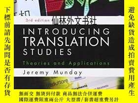 二手書博民逛書店【罕見】Introducing Translation StudiesY27248 Jeremy Munday