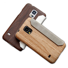 【默肯國際】more.Oak Wallet Samsung S5 仿真木紋保護皮套 S5皮套 木紋殼