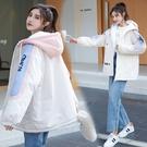 夾克外套時尚外套 修身學院風棉服女生外套 風衣棉襖女士外套 韓版外套羽絨外套 冬季加厚上衣