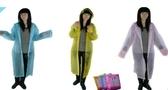 [協貿國際]加厚雨衣時尚磨砂雨衣 開衫便攜旅1入