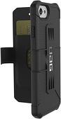 【美國代購】UAG Folio iPhone 8/7/6s [4.7英寸] Metropolis 軍事跌落測試的手機殼 黑色