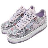 【五折特賣】Nike 休閒鞋 AF1 Upstep 35 芋頭紫 亮片 花花 女鞋 Air Force 1 【PUMP306】 917589-500