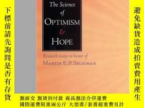 二手書博民逛書店Science罕見Of Optimism And HopeY364682 Jane E. Gillham Te