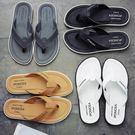 拖鞋 人字拖男士潮流休閒簡約夾腳涼拖鞋男夏時尚外穿防滑室外沙灘鞋