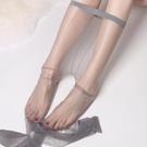 空姐灰超薄絲襪女薄款隱形灰色性感無痕一線...