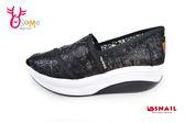 SNAIL蝸牛休閒鞋 真皮 厚底休閒鞋 懶人鞋 C4809#黑色◆OSOME奧森童鞋/小朋友
