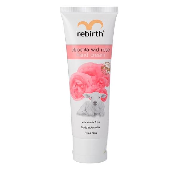 澳洲精選 Rebirth 胎盤素玫瑰清爽潤手霜(RB18)