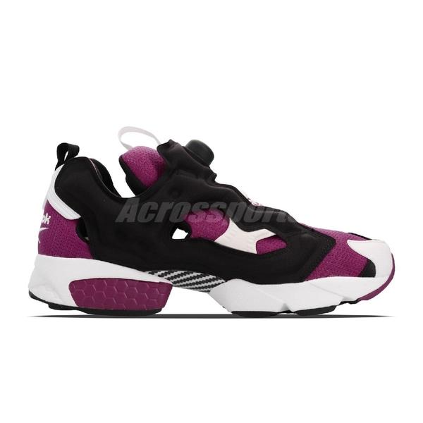 【六折特賣】Reebok Insta Pump Fury OG 都敏俊 黑 紫 白 原版配色 男鞋 運動鞋【ACS】 M40933