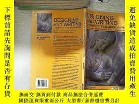 二手書博民逛書店DESIGNING罕見AND WRITING SCIENTIFIC RESEARCH PAPERS 設計和撰寫科研