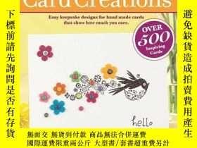 二手書博民逛書店The罕見Best of Card CreationsY1913