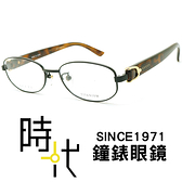 【台南 時代眼鏡 Gucci】古馳 光學眼鏡鏡框 GG4269J 411 橢圓鏡框眼鏡 黑框 豹紋 複合式膠框 52mm