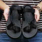 ?鞋 涼鞋男沙灘鞋時尚外穿夾腳越南拖鞋夏季室外情侶潮流防滑 2色39-44