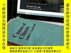 二手書博民逛書店英文:Causes罕見of climate 氣候的起因Y4211