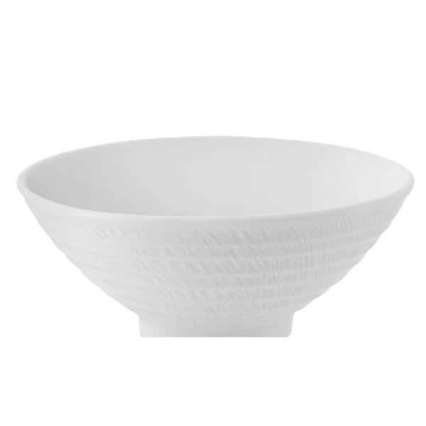 【Luzerne】陸升瓷器 Song 螺旋紋 15.5cm V型湯碗397ml /SG7003215