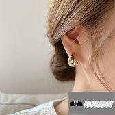耳環耳飾簡約水滴耳圈冷淡風簡約金屬耳釘女【邦邦男裝】