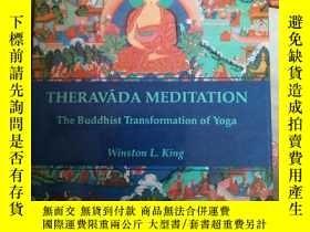 二手書博民逛書店THERAVADA罕見MEDITATION THE BUDDHI