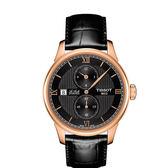 ◆TISSOT◆Le Locle 經典力洛克三針一線機械腕錶T006.428.36.058.02