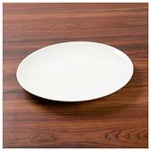 白色瓷器 圓盤 23cm A0018 白色系餐具 NITORI宜得利家居