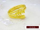 9999純金 黃金 金戒指  設計師款 時尚造型  戒指 送禮 自用推薦