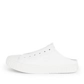 Skechers Street Trax [155386WHT] 男女鞋 休閒 帆布 穆勒鞋 輕量 避震 緩衝 白 米