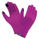 [好也戶外]mont-bell Trail Action Gloves 女款可觸控保暖手套 黑/紫 NO.1118270-BK/PUWN