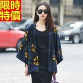 和服外套-雪紡復古碎花日式防曬和風女罩衫68af8【時尚巴黎】