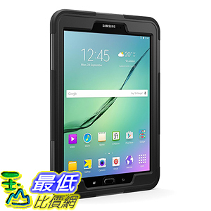 [美國直購] Griffin GB42006 平板殼 保護殼 Galaxy Tab S2 9.7 Protective Case, Survivor Slim with Stand