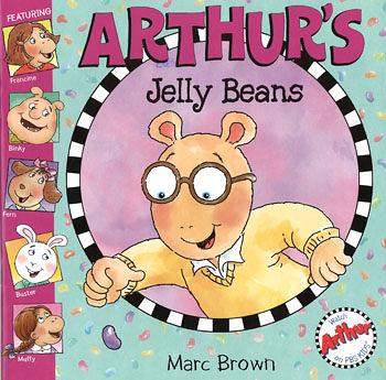 【麥克書店】ARTHUR'S JELLY BEAN /英文故事繪本+CD