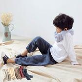 長褲 韓版男女童棉麻純色防蚊褲長褲 W75007