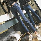 直筒牛仔褲女春秋新款韓版夏