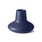 丹麥 Georg Jensen 22.5cm 漢寧古柏系列 喬治傑生 藍色石陶 花瓶 - 中尺寸