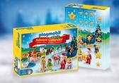 Playmobil 摩比 9009 123系列聖誕老人降臨曆