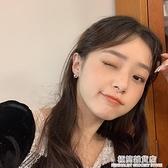 精致小巧珍珠耳釘小眾設計感耳夾女無耳洞耳飾氣質韓國網紅耳環 極簡雜貨