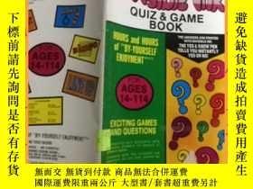 二手書博民逛書店英文書罕見invisible ink quiz & game book 隱形墨水測驗和遊戲書Y16354 請見