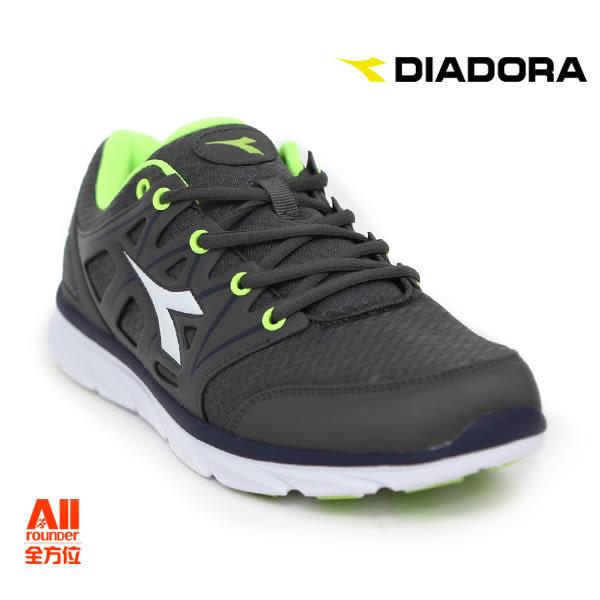 【Diadora 迪亞多那】男款 休閒運動鞋-鐵灰青(D5588)全方位跑步概念館