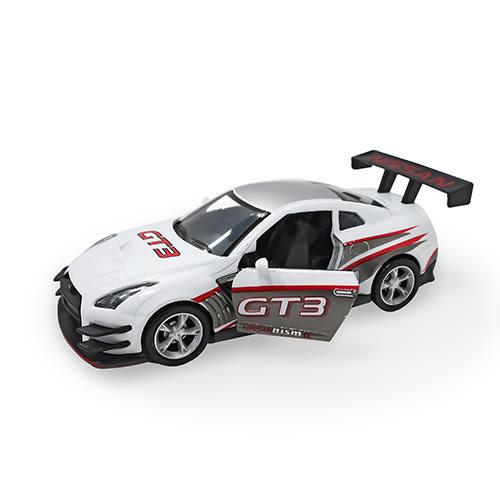 TJ-3970 超跑大集合-日產GT3/正版授權 迴力車 模型車 (1:32) 【楚崴玩具】
