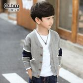 毛衣童裝春裝新款男童毛衣外套兒童針織衫開衫韓版中大童聖誕狂歡好康八折