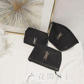 可愛旅行化妝包收納包袋女韓國簡約大容量小號隨身手拿包便攜迷你花間公主