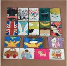 卡通布藝棉麻風格紙巾盒紙巾包 餐巾盒套餐廳衛生間紙巾抽