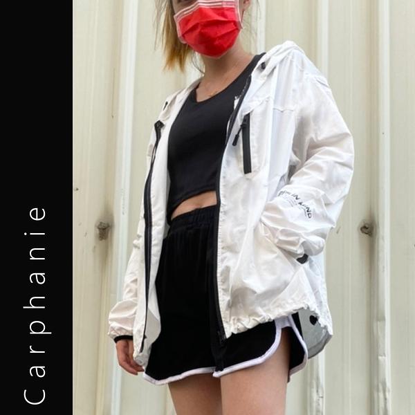 Carphanie卡芬妮 潮流輕薄透氣防紫外線防曬外套-3色